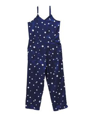 Big Girls Polka Dot Jordana Jumpsuit