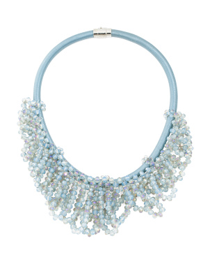 Crystal Loop Necklace
