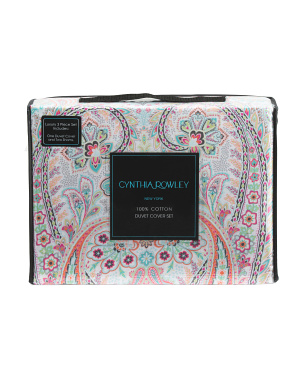 Evelyn Paisley Duvet Set