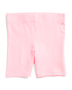 Little Girls Bermuda Bike Shorts