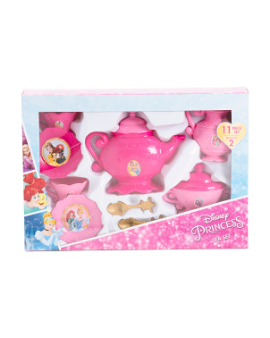 11pc Princess Tea Set