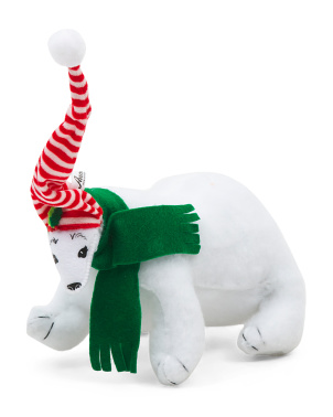 7in Merry Mint Polar Bear
