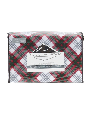 Merry Plaid Flannel Sheet Set