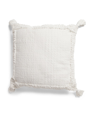 20x20 Indoor Outdoor Loop Textured Pillow