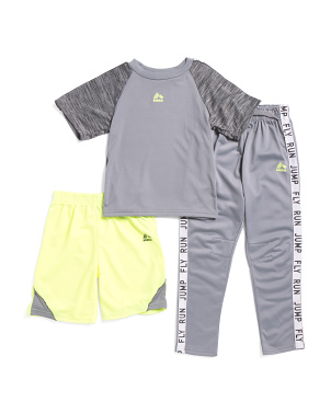 Big Boys 3pc Active Jogger Set