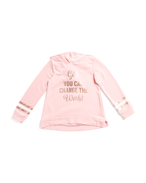Big Girls Change The World Hoodie