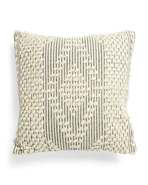 18x18 Quinto Textured Pillow