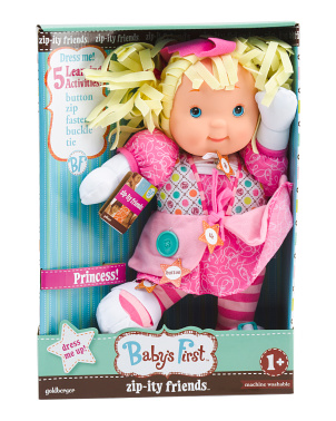 Zipity Princess Doll