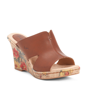Cork Comfort Wedges