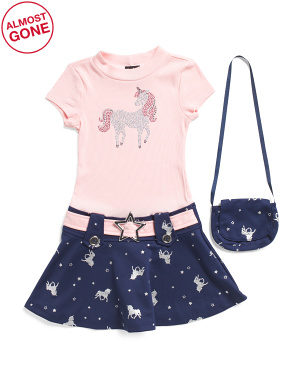 Little Girls Unicorn Marcia Dress