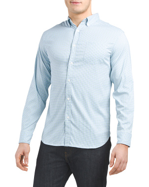 Performance Quick Dry Super Soft Plaid Shirt