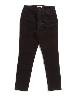 Big Girls Stretch Skinny Corduroy Pants