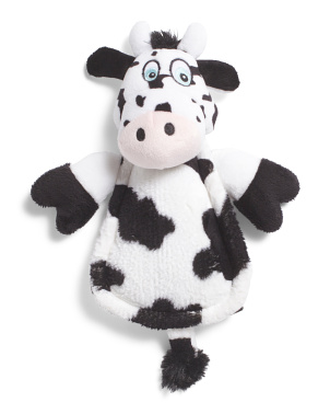 Ultra Sonic Silent Squeaker Cow Toy