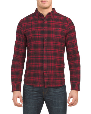 Long Sleeve Flannel Plaid Shirt
