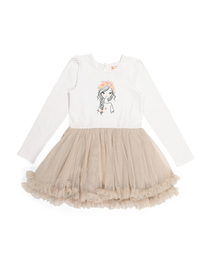 Girls Parisian Girl Tutu Dress