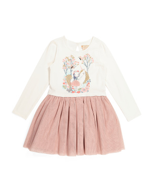Girls Unicorn Friends Tutu Dress