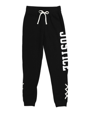Big Girls Lace Up Joggers
