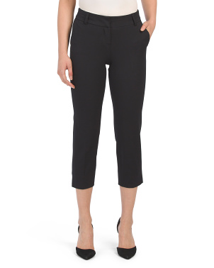 Petite 4-way Stretch Capri Pants