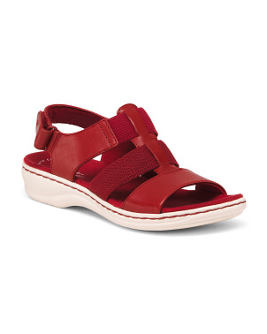 All Day Comfort Leather Sport Sandals