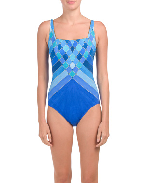 Mystic Gem Tummy Control One-piece Swimsuit