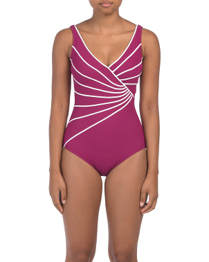 Sinatra Tummy Control One-piece Swimsuit