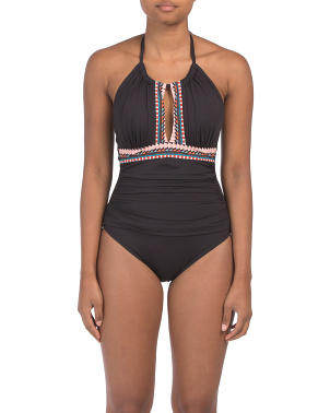 High Neck Mio One-piece Swimsuit