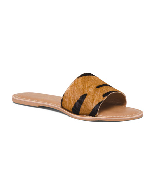 Tiger Haircalf One Band Sandals