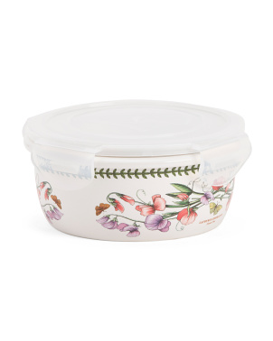 Botanic Garden Medium Storage Container With Lock Lid