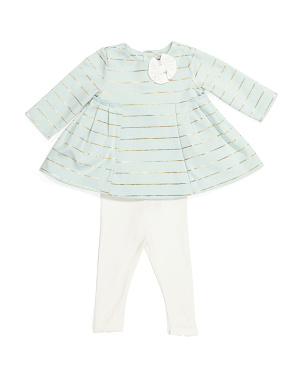 Baby Girls Tunic & Legging Set