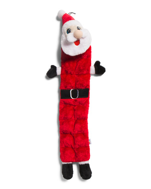 Squeaker Matz Santa Dog Toy