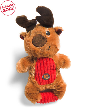 Squeeze Ems Reindeer Dog Toy