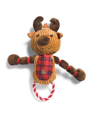 Thunder Tuggerz Reindeer Dog Toy