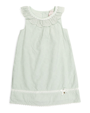 Toddler Girls Embroidered Dress