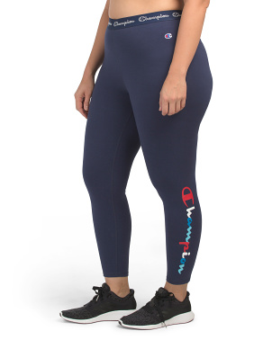 Plus Authentic Crop Leggings