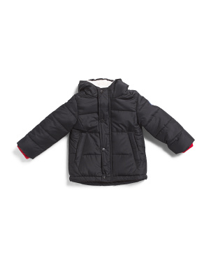 Toddler Boys Puffer Jacket