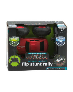 Toy Remote Control Flip Stunt Rally Car