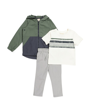 Toddler Boys 3pc Jacket Set