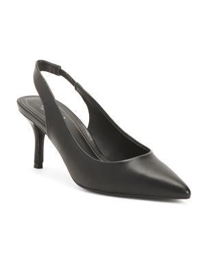 Slingback Pointy Toe Pumps