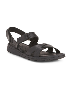 Comfort Adjustable Leather Sandals