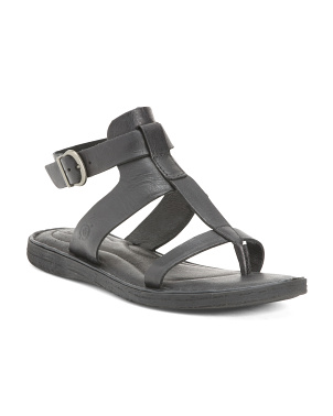 Comfort Gladiator Leather Sandals