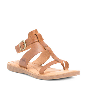 Leather Comfort Gladiator Sandals