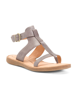 Comfort Leather Gladiator Sandals