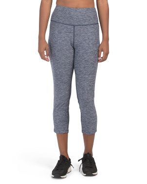 High Rise Cropped Active Leggings
