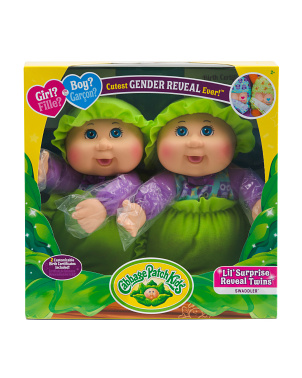 9in Lil Reveal Surprise Twins Dolls