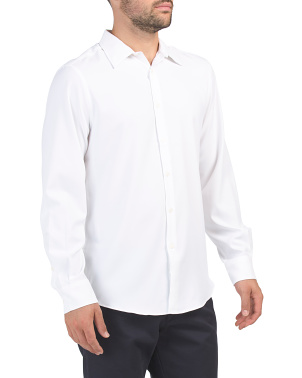 Long Sleeve Solid Performance Shirt