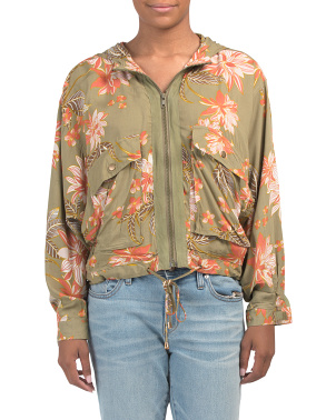 Juniors Australian Designed Floral Jacket