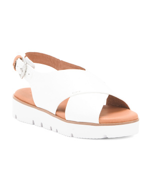 Patent Leather Comfort Sandals