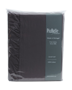 Made In Portugal Ruffle Duvet Set