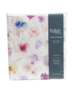Made In Portugal Tabarca Print Duvet