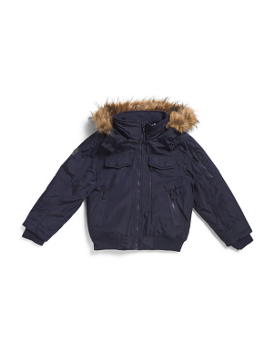 Big Boys Parka Bomber Jacket